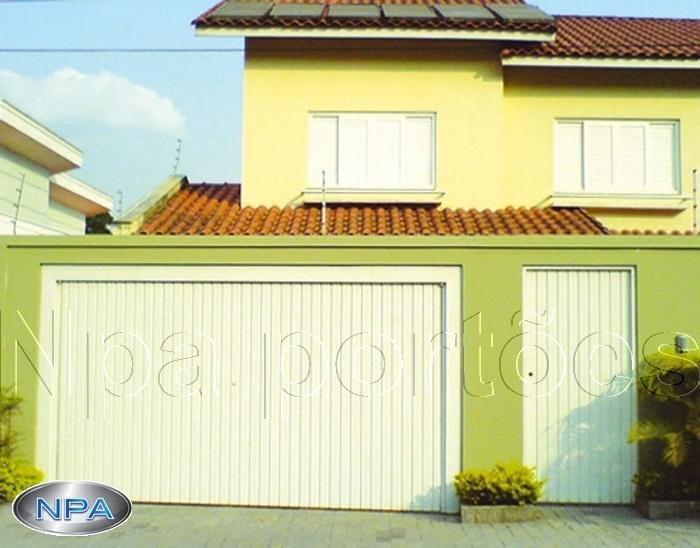 NPA 059 – Portão de Aço Lambril