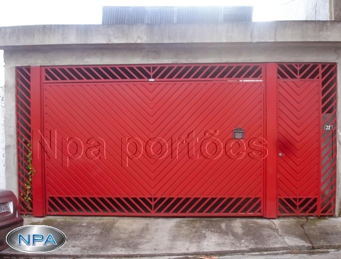 NPA 064 – Portão de Aço Lambril