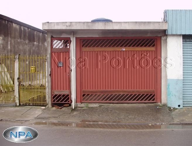 NPA 065 – Portão de Aço Lambril
