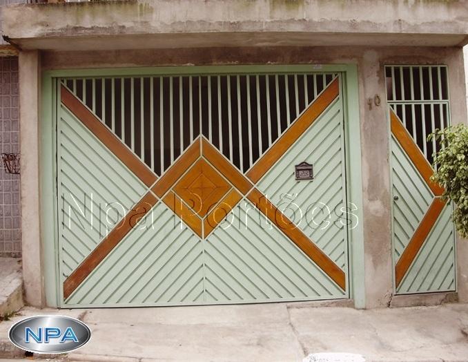 NPA 067 – Portão de Aço Lambril