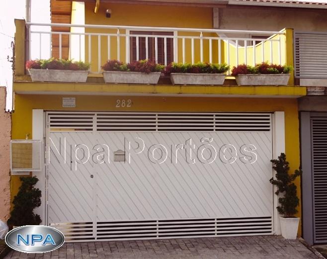 NPA 070 – Portão de Aço Lambril