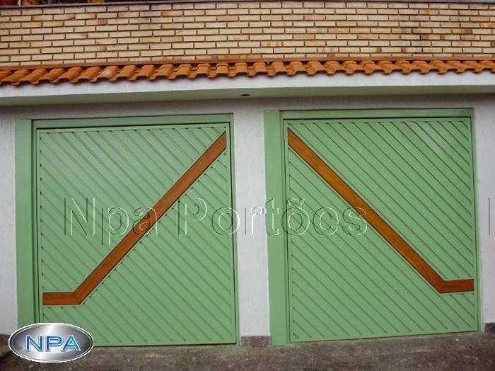 NPA 071 – Portão de Aço Lambril
