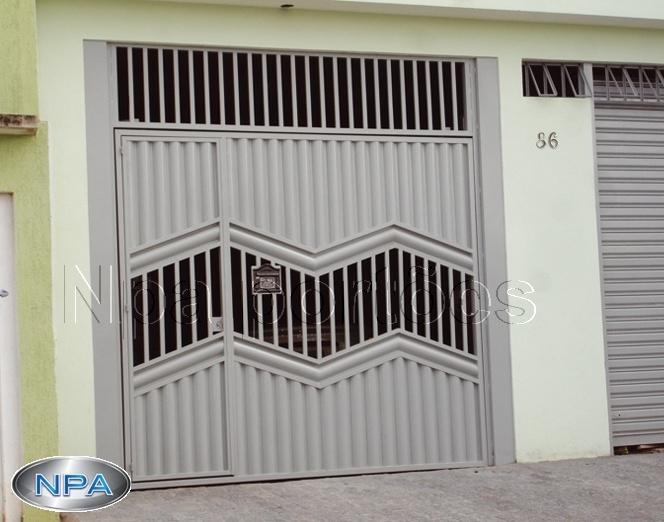 Portão de Chapa – NPA 079