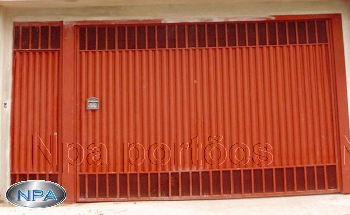 Portão de Chapa – NPA 081