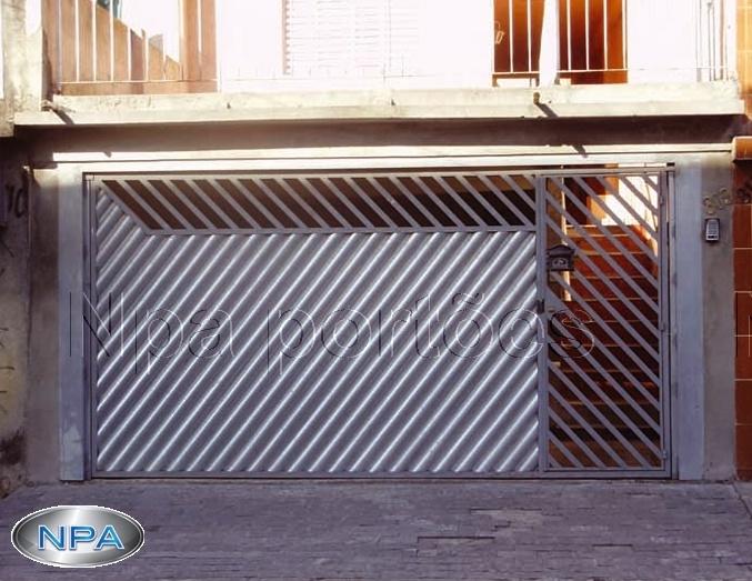 Portão de Chapa – NPA 082