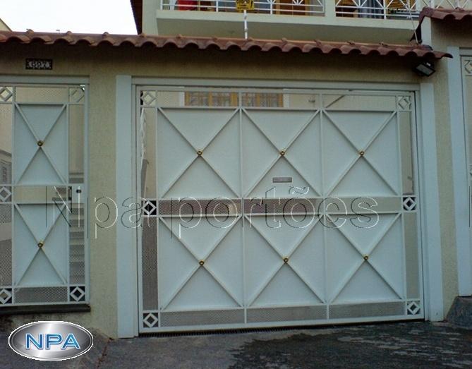 Portão de Chapa – NPA 105