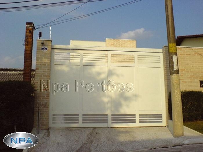 Portão de Chapa – NPA 107