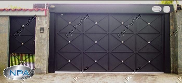 Portão de Chapa – NPA 095