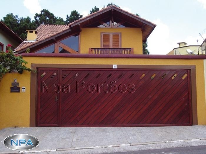 Portão de Madeira – NPA 05 – Ypê – Na Diagonal