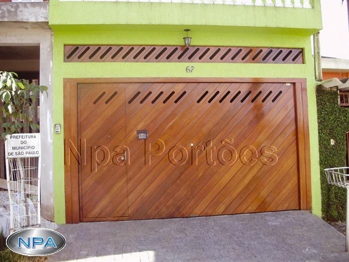 Portão de Madeira – NPA 09 – Ypê – Na Diagonal