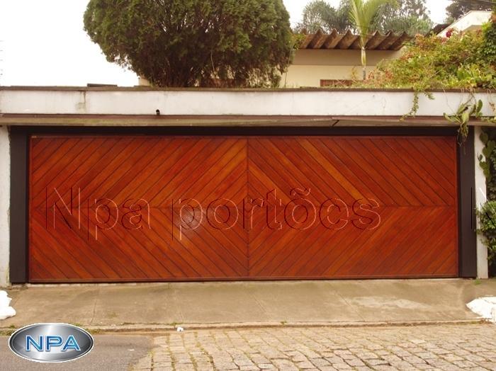 Portão de Madeira – NPA 11 – Ypê – Losango