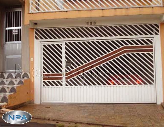 NPA 037 – Portão de Tubo e Madeira