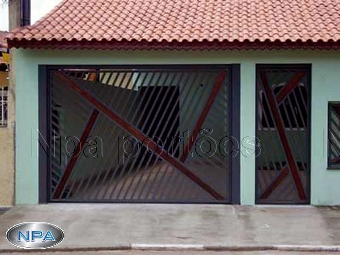 NPA 032 – Portão de Tubo e Madeira