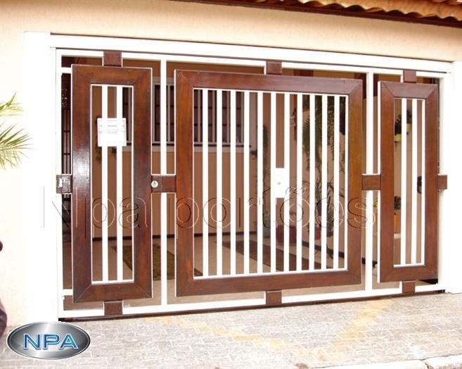 NPA 034 – Portão de Tubo e Madeira