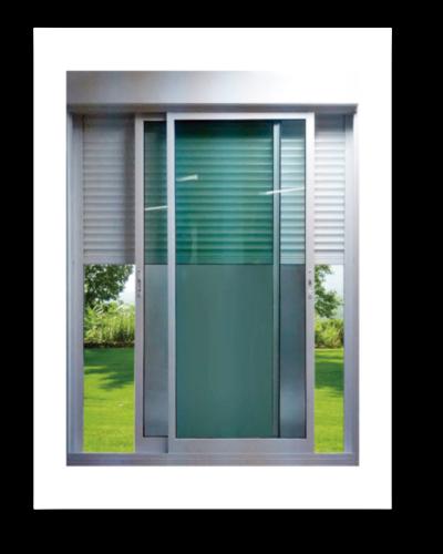 porta balcão aluminio persiana